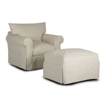 Jenny Chair and Ottoman