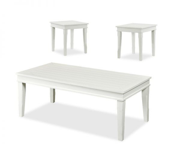 Manchester Occasional Tables - White 263