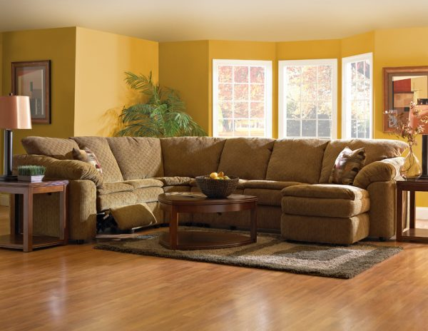 Legacy Reclining Sectional 2700-3701