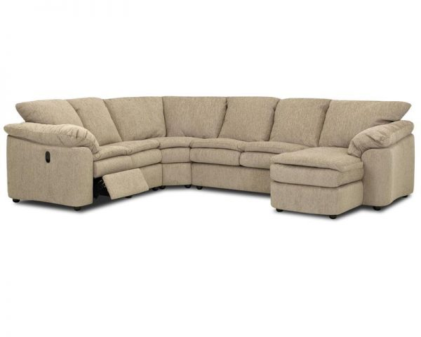 Legacy Reclining Sectional 2700-3697