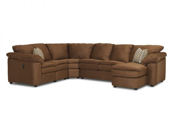 Legacy Reclining Sectional 2700-3704
