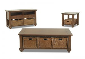 Treasures Occasional Tables- Brown 839
