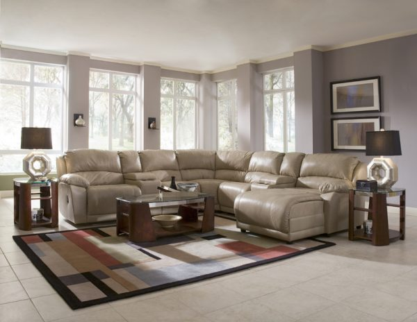 Charmed Reclining Sectional 30603-3638