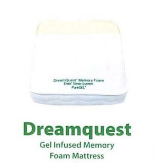 Dreamquest Gel Infused Memory Foam Mattress