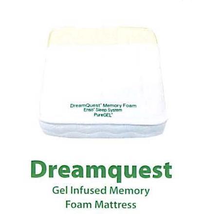 Dreamquest Gel Infused Memory Foam Mattress