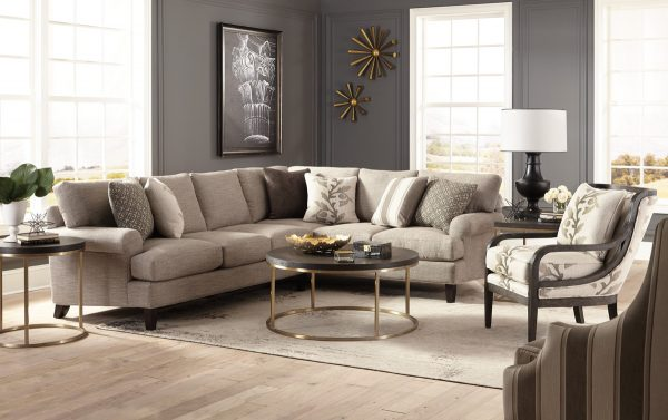 Craftmaster 7675 Sectional-0