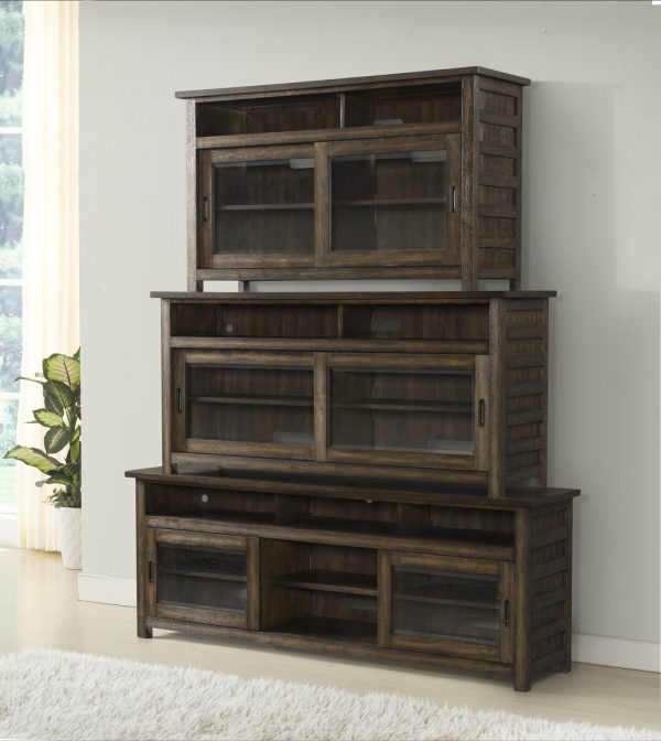 Riverside Furniture Perspective Entertainment Center (Brushed Acacia)-0