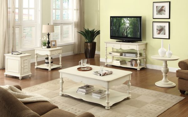 Riverside Furniture Placid Cove Cabinet Coffee Table-0