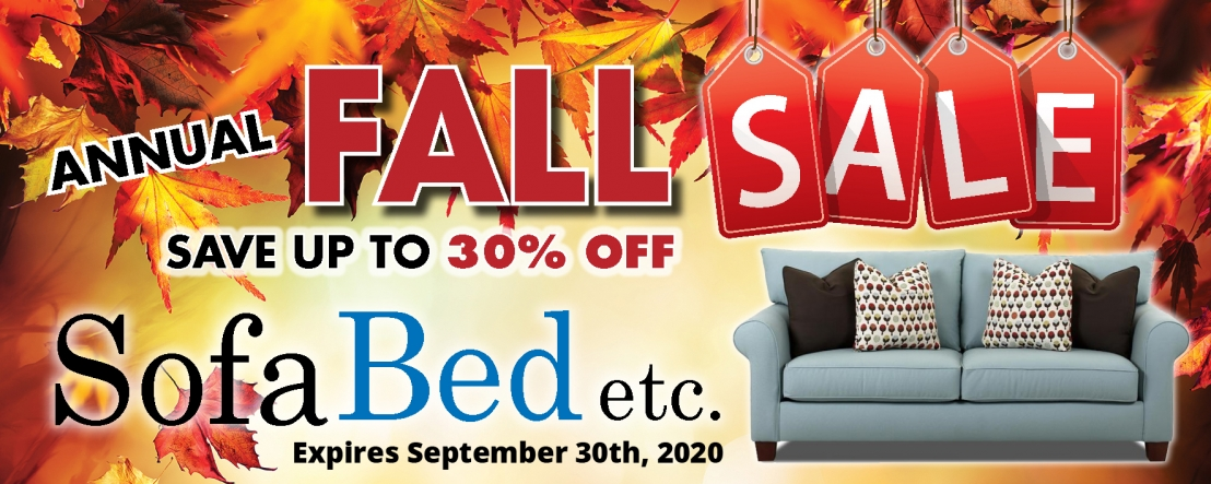 SofaBed FALL WEB banner