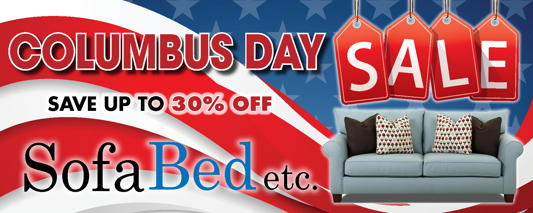 SofaBed Columbus Day